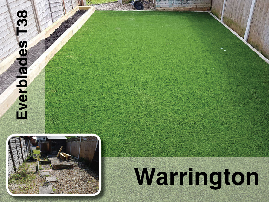 Artificial Grass in Warrington