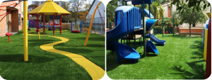 Artificial Grass for Schools and Nurseries Playground Surfaces 2