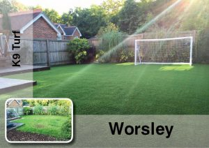 artificial grass in Bury